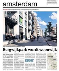 Bergwijkpark wordt woonwijk