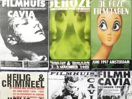 filmposters in Filmhuis Cavia